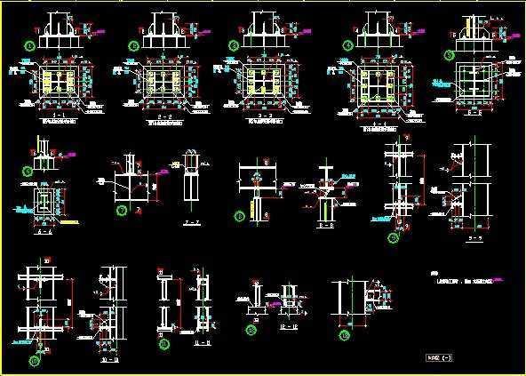 钢结构厂房结构图纸