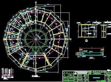 气象塔全套设计图纸