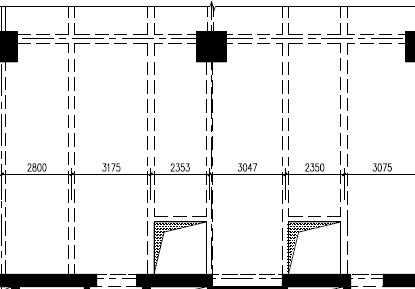框架开洞增设钢小区v框架设计图免费下载楼板宣传栏楼梯设计图图片