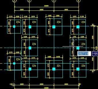 某市场铺面楼结构设计图图片