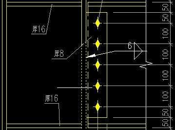 钢结构梁柱节点图免费下载