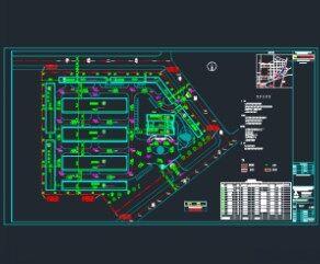 厂房总平面图免费下载 钢结构