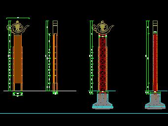钢结构柱施工图