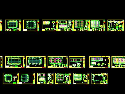 堆棚结构设计图纸免费下载