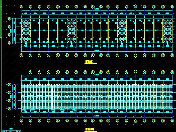 某公司钢结构厂房设计图