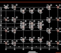 某公司办公楼结构设计图纸