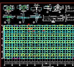 某研究中心试验厂房结构设计图纸