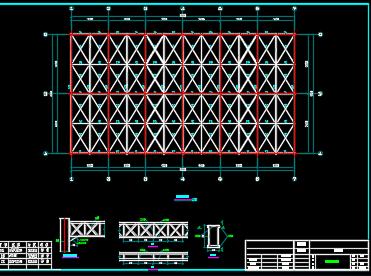 大跨度钢结构大棚施工图纸