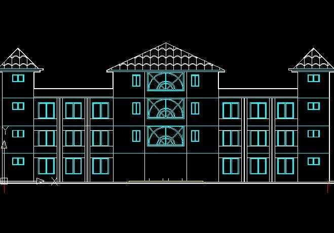 CAD实用练习操练图免费下载daldlicad图片