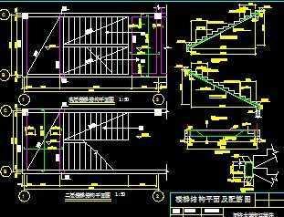 楼梯设计平面图免费下载图片