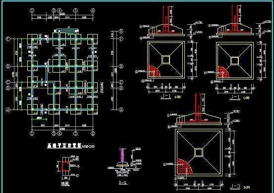 别墅结构图纸免费下载