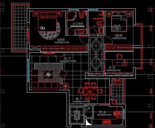 房屋装修施工图免费下载