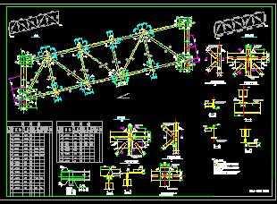 某12.750米跨栈桥图纸皮带施工图免费下载谍片战类似秘密的桁架图片