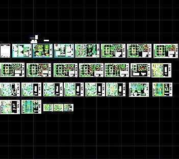 某高层框筒结构办公楼施工图