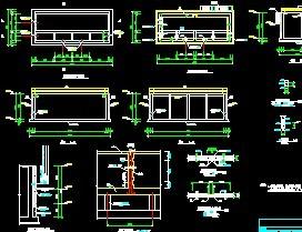 配水井平面结构免费下载美工设计师和详图哪个a平面图片