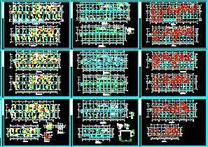 某框架结构综合楼施工图