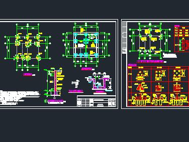 消防训练塔结构设计图