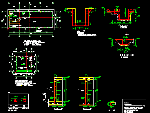泵房结构大样图