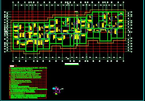 某23层高层住宅楼结构施工图纸