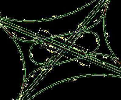 立交桥设计平面图
