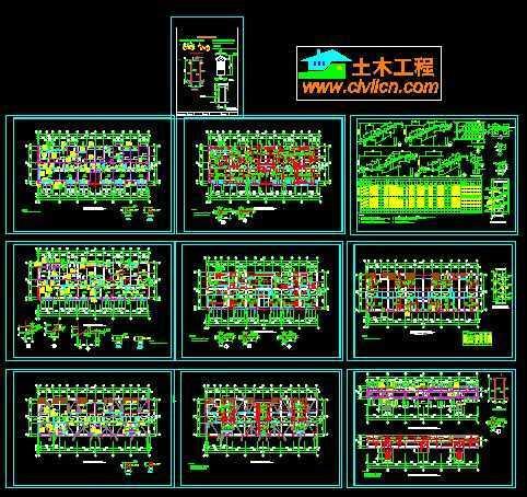 某别墅砖混结构施工图免费下载
