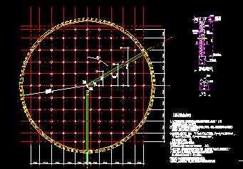 某二沉池结构设计图