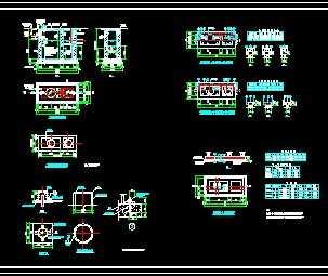 化粪池结构设计图