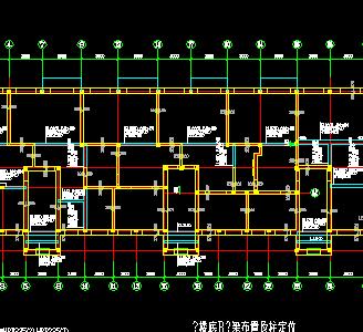 砌体住宅楼结构施工图纸