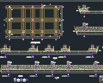 某电站制冷楼基础工作图