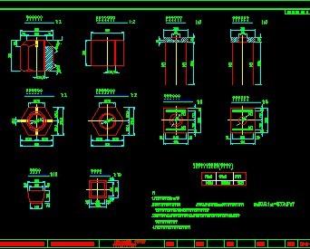 198米连续梁桥v软件软件免费下载-桥梁图纸-卧室图纸图纸图片