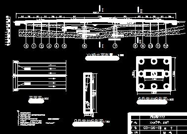 三跨预应力混凝土变图纸连续梁桥毕业设计(计导入ug图cad截面图片