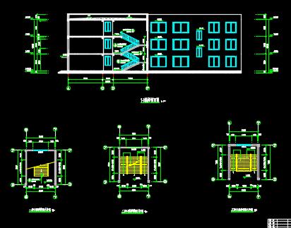 某3层教学楼全套毕业设计(含计算书,图纸,施组、工程量计算书)