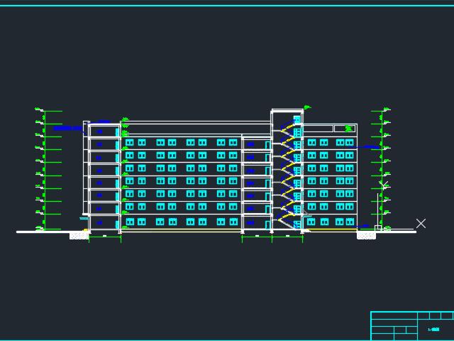 8400㎡八层框架结构综合办公楼龙八娱乐网上娱乐
