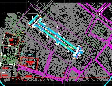 汽车站市政道路工程施工图纸免费下载 公路图纸