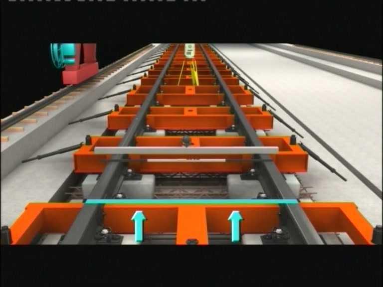 crtsi型双块式无砟轨道框架法施工视频免费下载 轨道工程