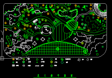 电气绿化绿化含义免费下载-设计美化工程图纸道路图纸虚线图片