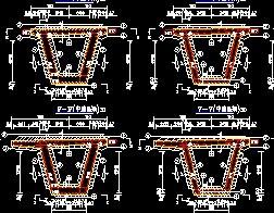装配式预应力混凝土箱形连续梁桥上部通用构造cad啦图纸怎么面积图片