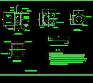 路灯基础及手孔图