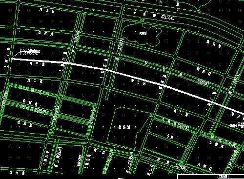 市政道路施工图纸免费下载