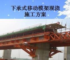 现浇桥梁支模架基础水稳是什么意思 : 现浇法进行桥梁施工时,需要对图片