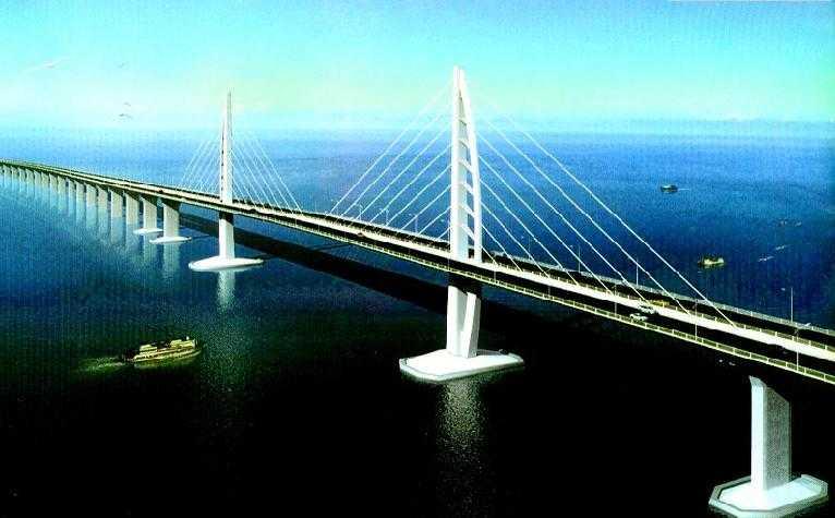 界级跨海通道 港珠澳大桥