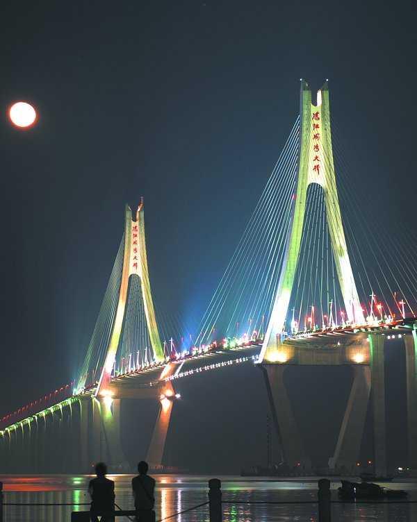 广东第一跨海大桥-湛江海湾大桥图片