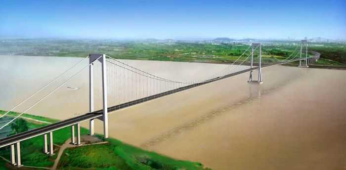 建设泰州长江大桥有利于进一步完善长江三角洲地区和