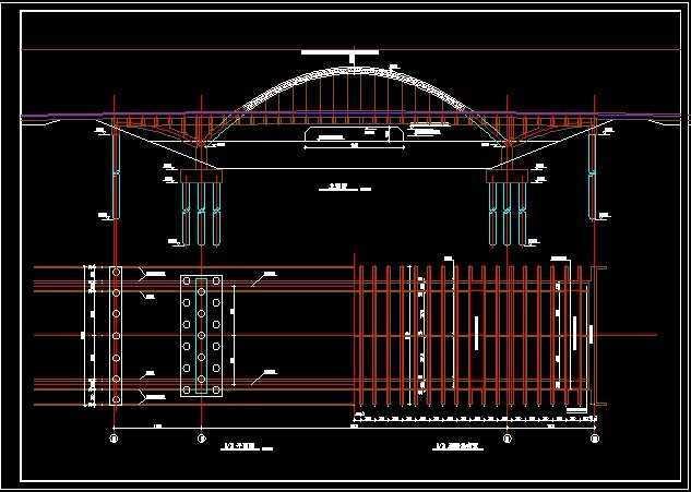 中承式拱桥设计图