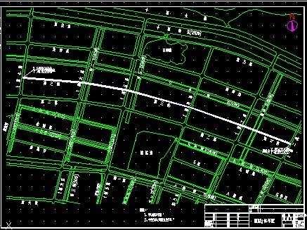 市政道路图纸免费下载