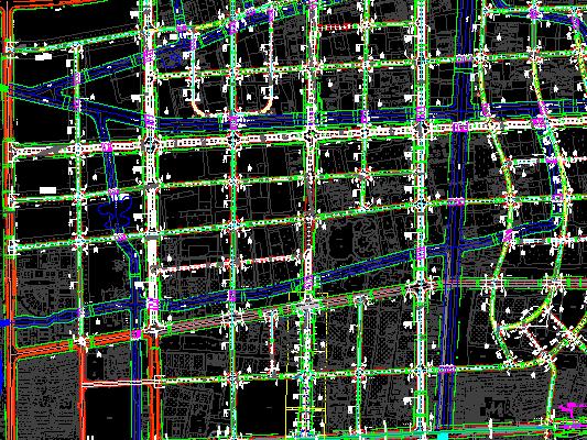 某道路新建工程施工图纸