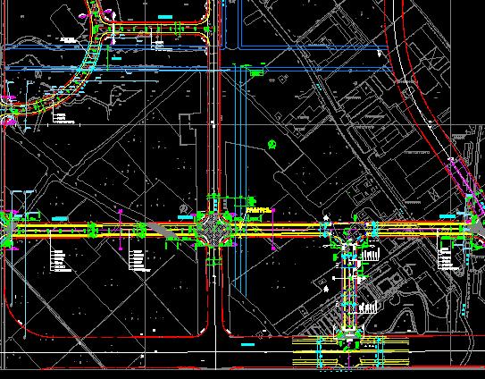 某城市道路施工图纸