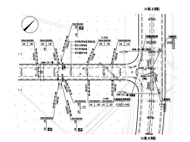 市政道路排水管道施工图(pdf格式)