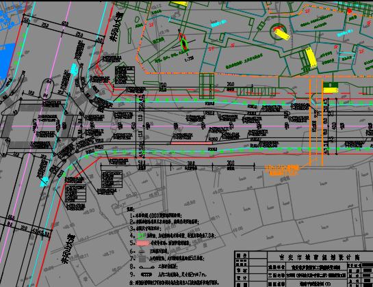道路新建工程设计图纸
