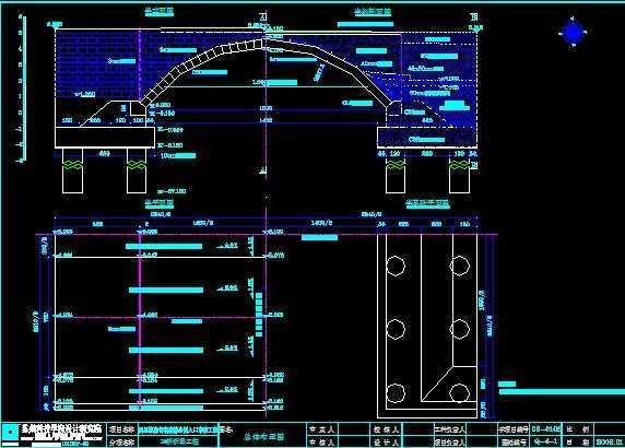 江南典型一行v典型拱桥免费下载图纸掘进机三图纸走图片
